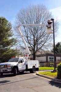 Commercial Lampost Repair Annapolis