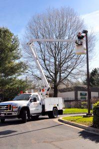 Commercial Lampost Repair Annapolis