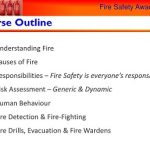 electrician, fire awareness Program